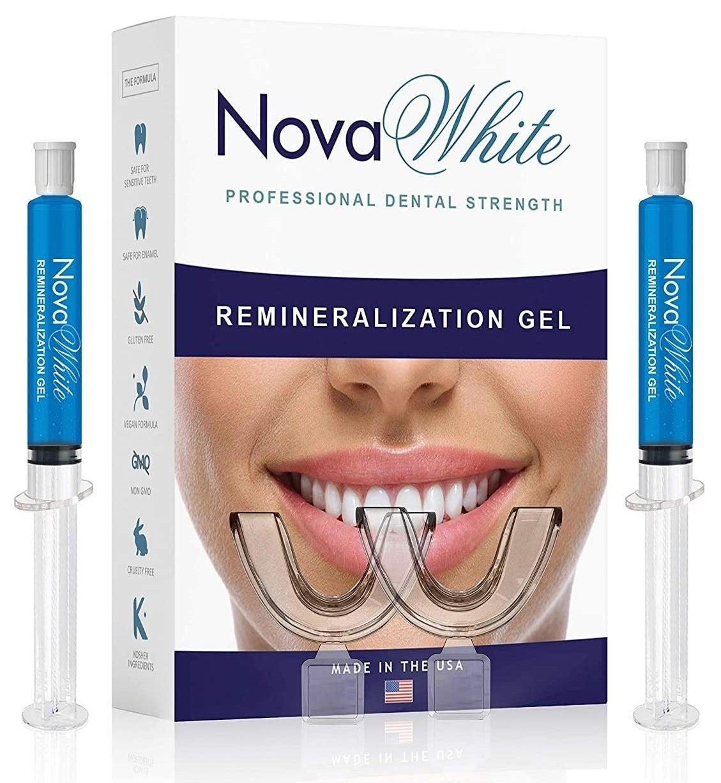 Nova White gel in two syringes