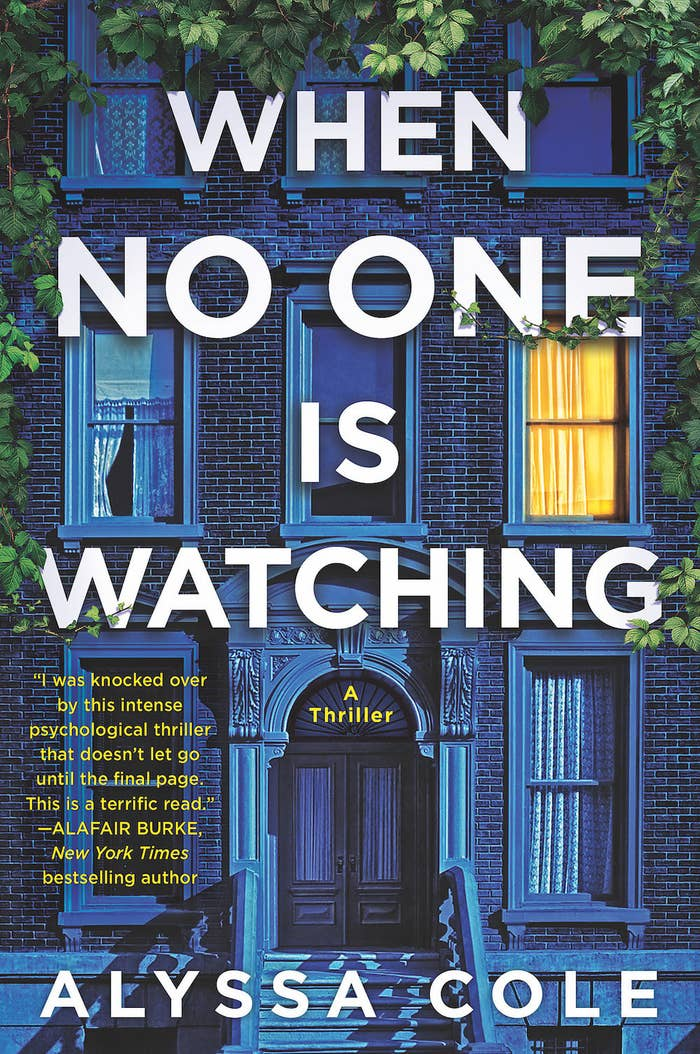 """""""When No One Is Watching"""" book cover"""