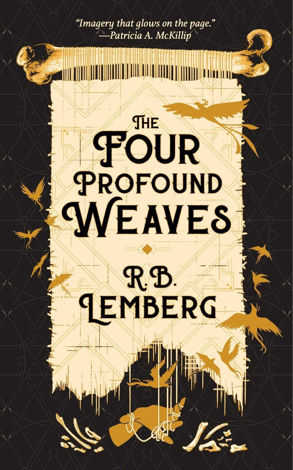 """The Four Profound Weaves"" book cover"