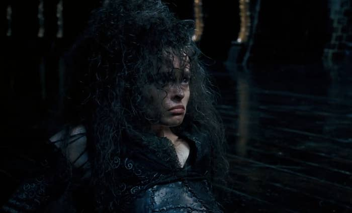 "Helena Bonham Carter as Bellatrix Lestrange in ""Harry Potter and the Order of the Phoenix"""