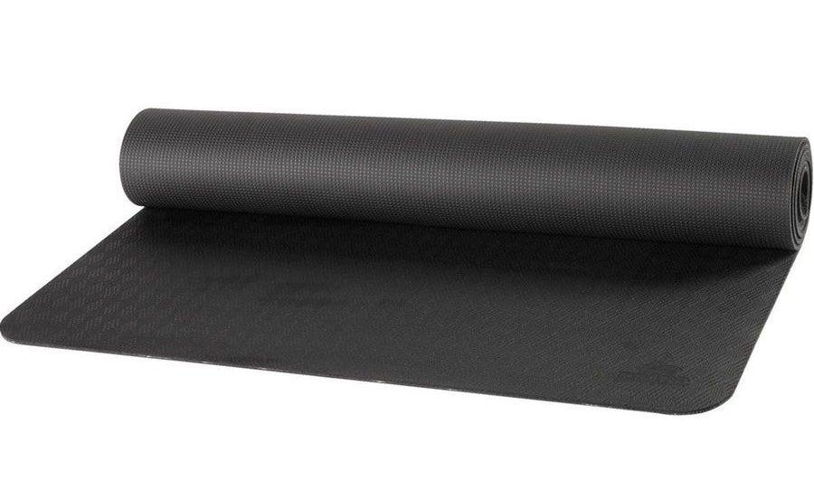 Prana large E.C.O. yoga mat in black