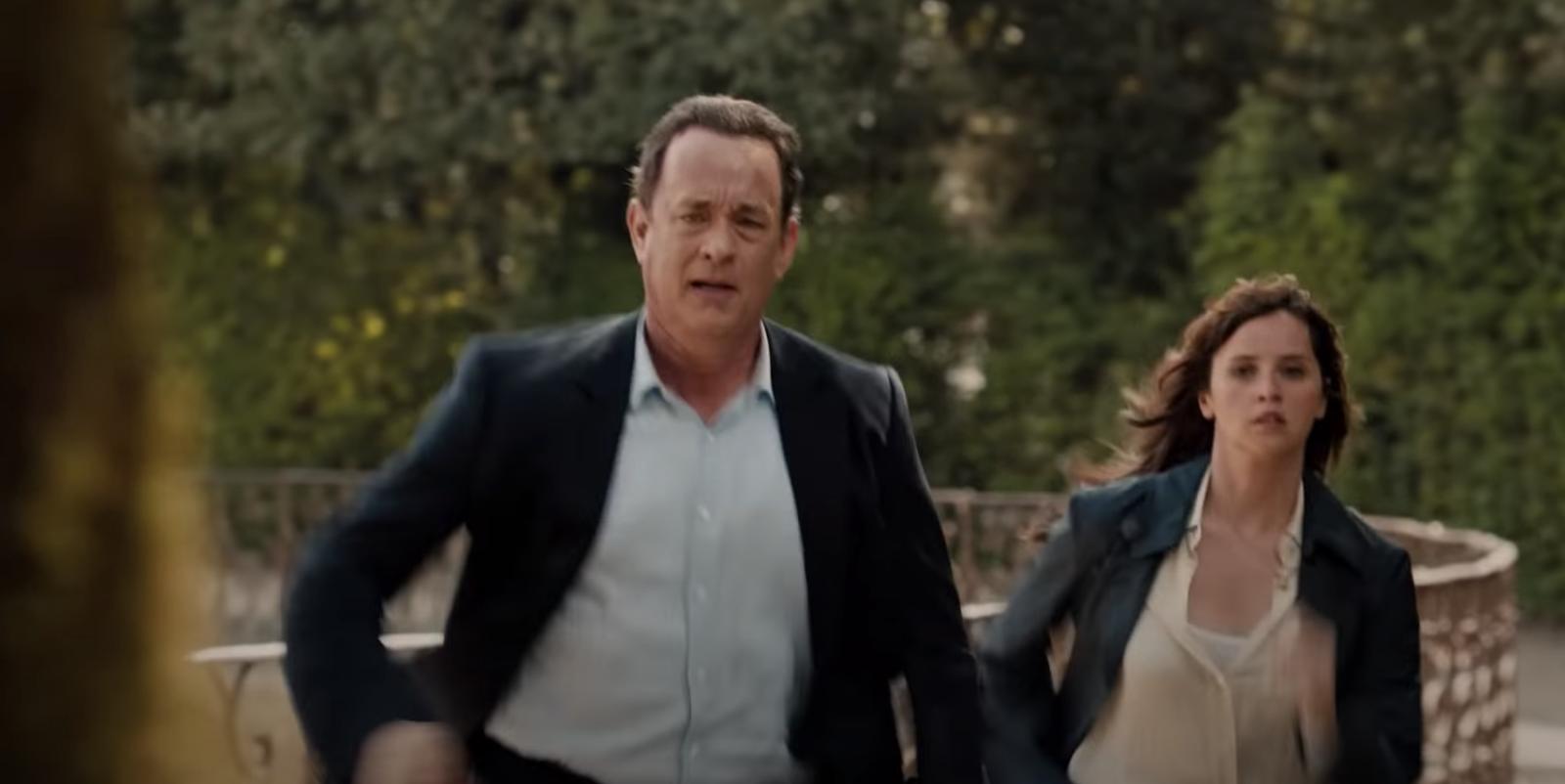 Tom Hanks as  Robert Langdon running