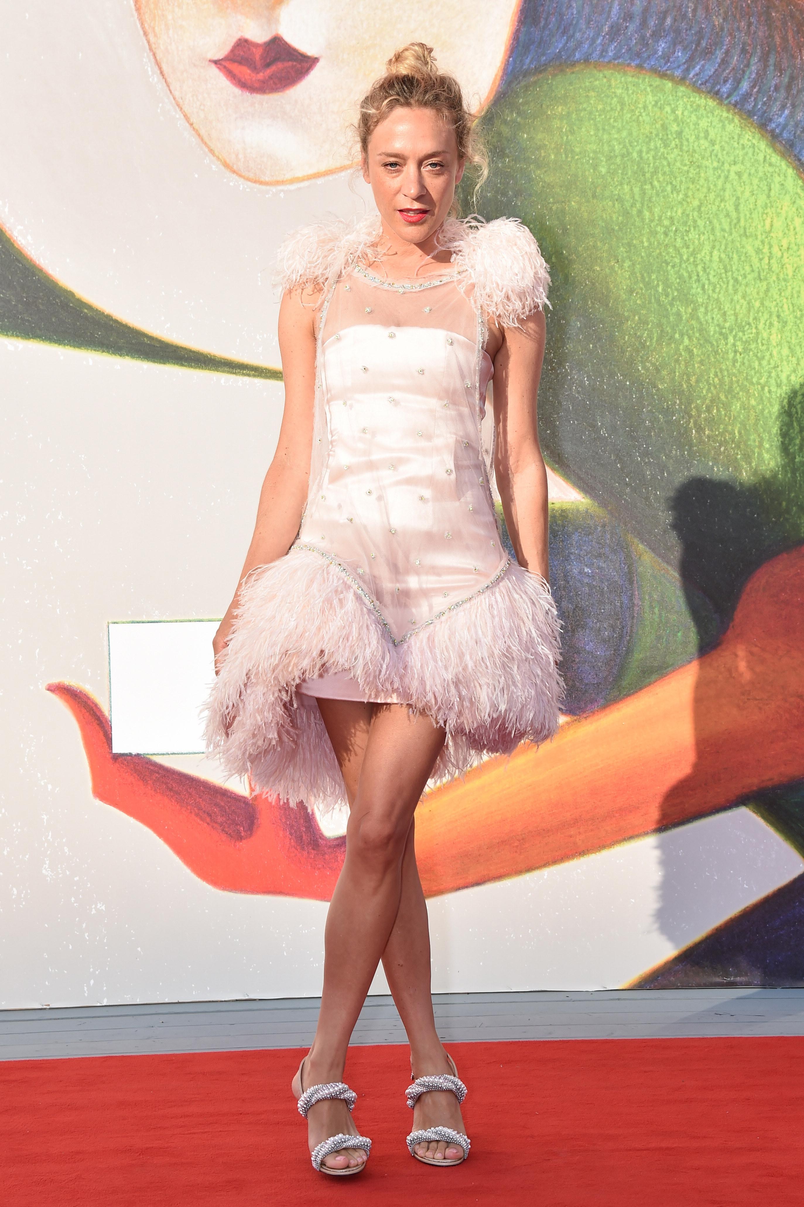 "Chloe Sevigny walks the red carpet ahead of the ""L'Annee Derniere a Marienbad"" screening during the 75th Venice Film Festival at Sala Giardino."