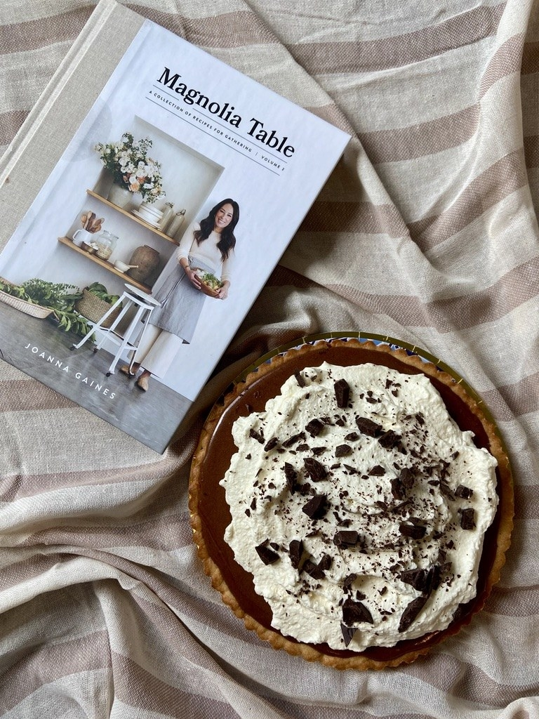 The homemade version of the French Silk Pie and the Magnolia Table, Volume 2 cookbook