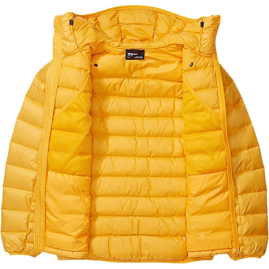 Marmot Hype down hooded jacket in yellow
