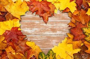 Credit: 123RF.com Via: https://previews.123rf.com/images/alexkon123/alexkon1231710/alexkon123171000038/88239452-view-of-heart-shaped-autumn-maple-leaves-on-a-brown-wooden-background.jpg