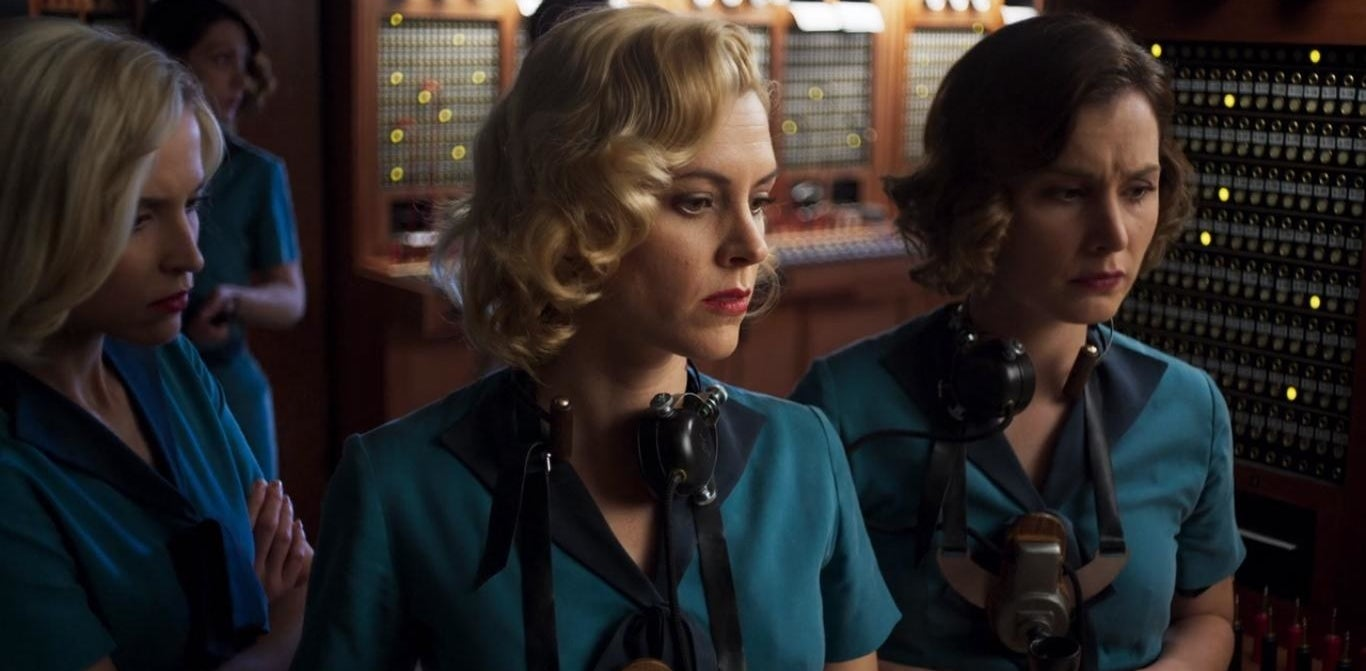 Lidia, Carlota, María, and Ángeles in Cable Girls