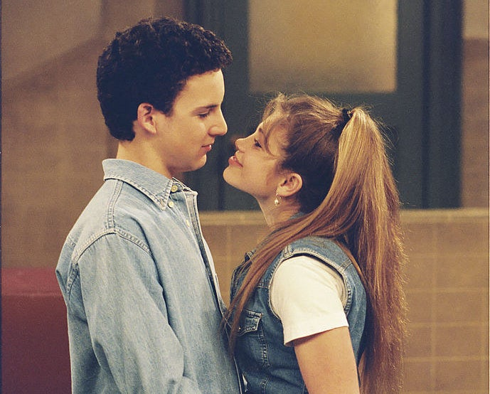 """Boy Meets World"" characters Cory and Topanga"