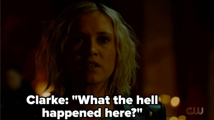 "Clarke: ""What the hell happened here?"""