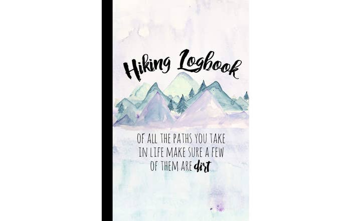 The cover of the Hiking Logbook