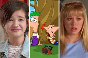 Andi Mack, Phineas and Ferb, and Lizzie McGuire