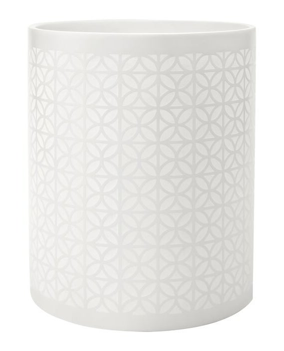 The White Jovanny 0.5 Gallon Waste Basket