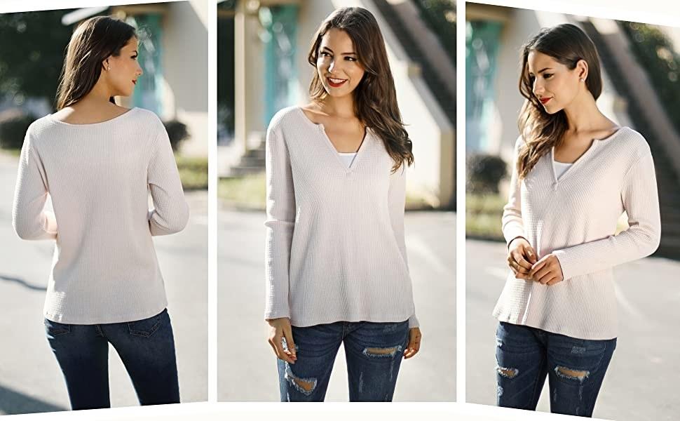 The shirt in cream