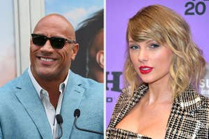 The Rock and Taylor Swift