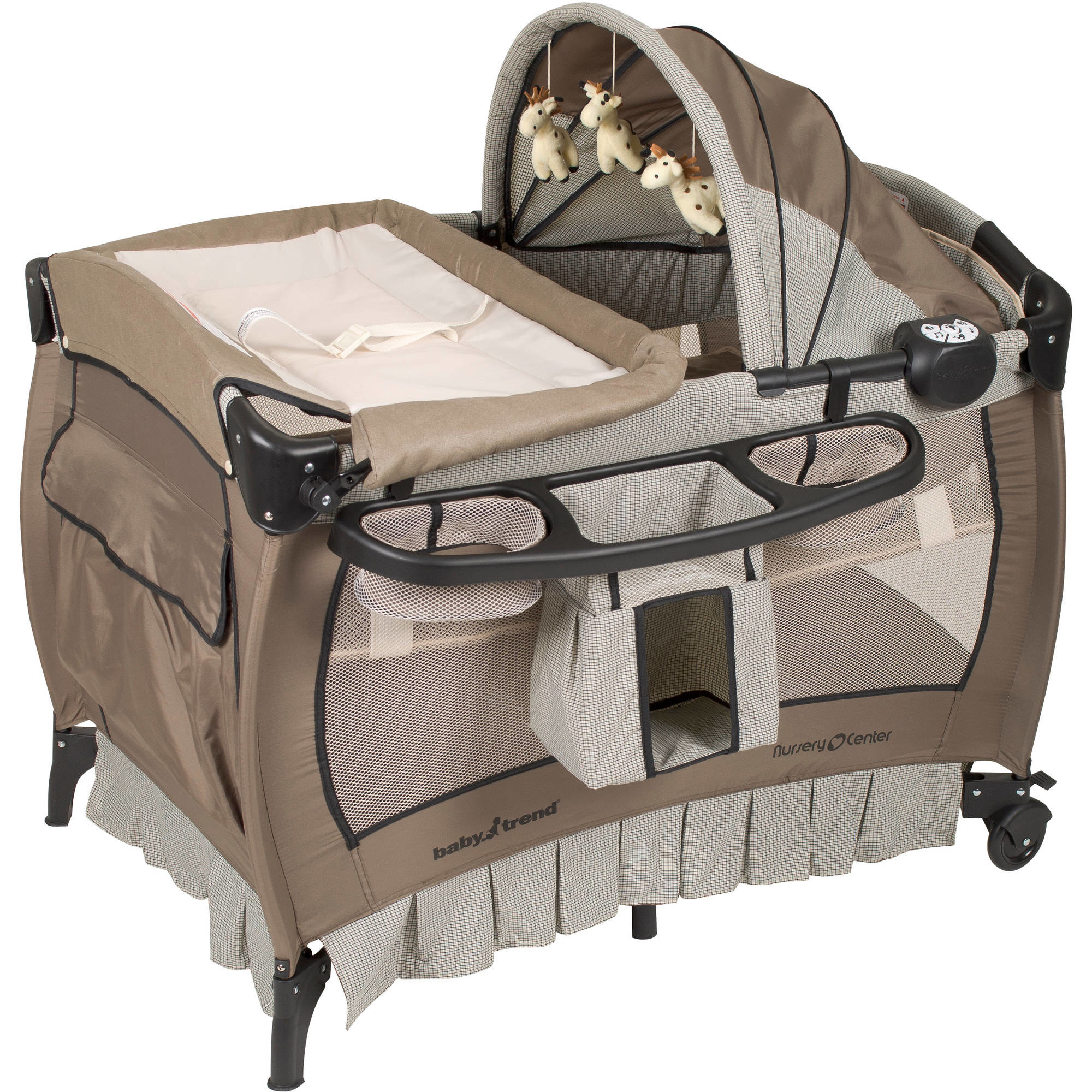 baby trend nursery center multi-function playard