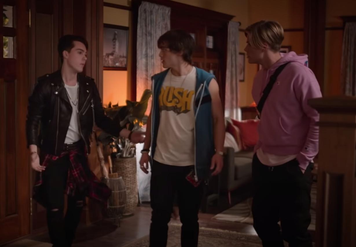 Reggie, Luke, and Alex.