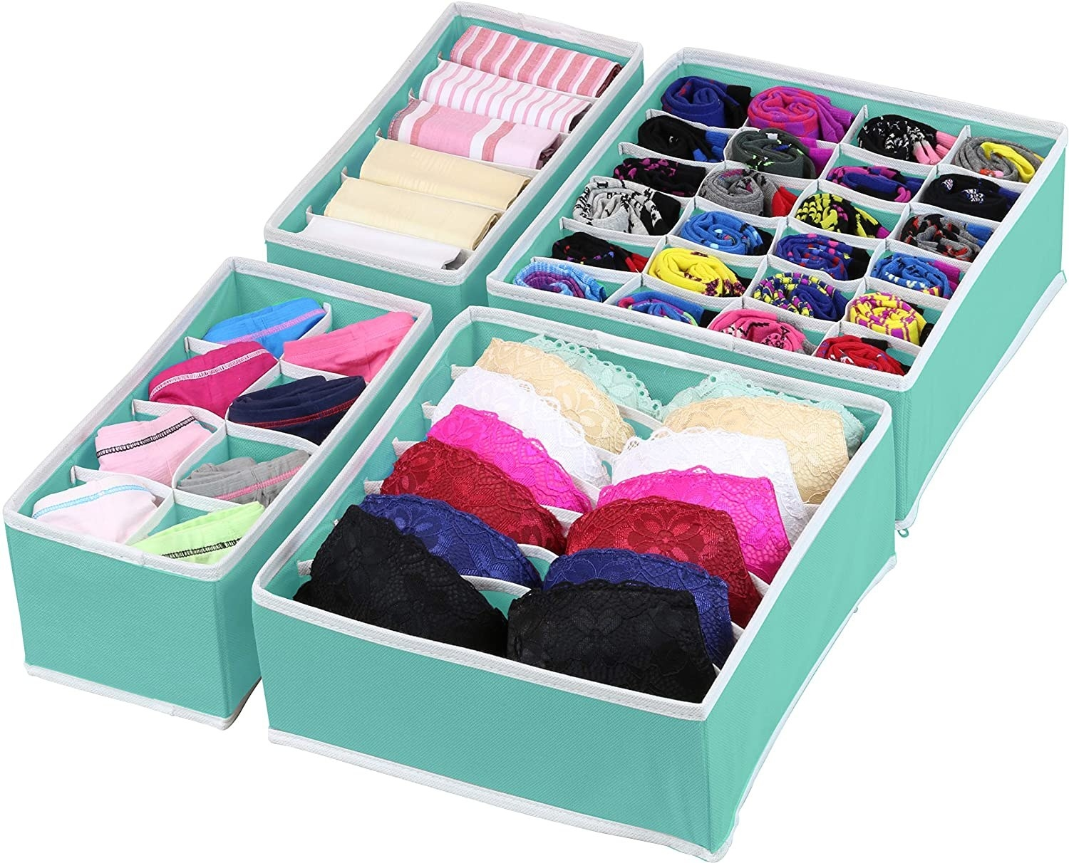 the drawer inserts organizing underwear bras and other clothing