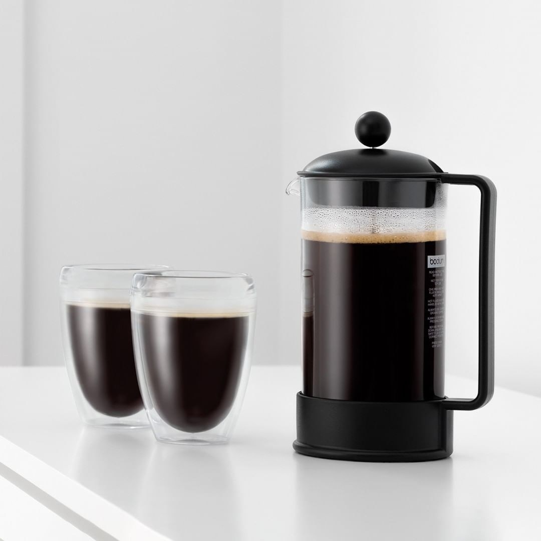 The black French Press