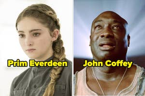 Prim Everdeen and John Coffey