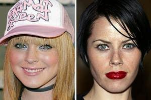Lindsay Lohan and Fairuza Balk