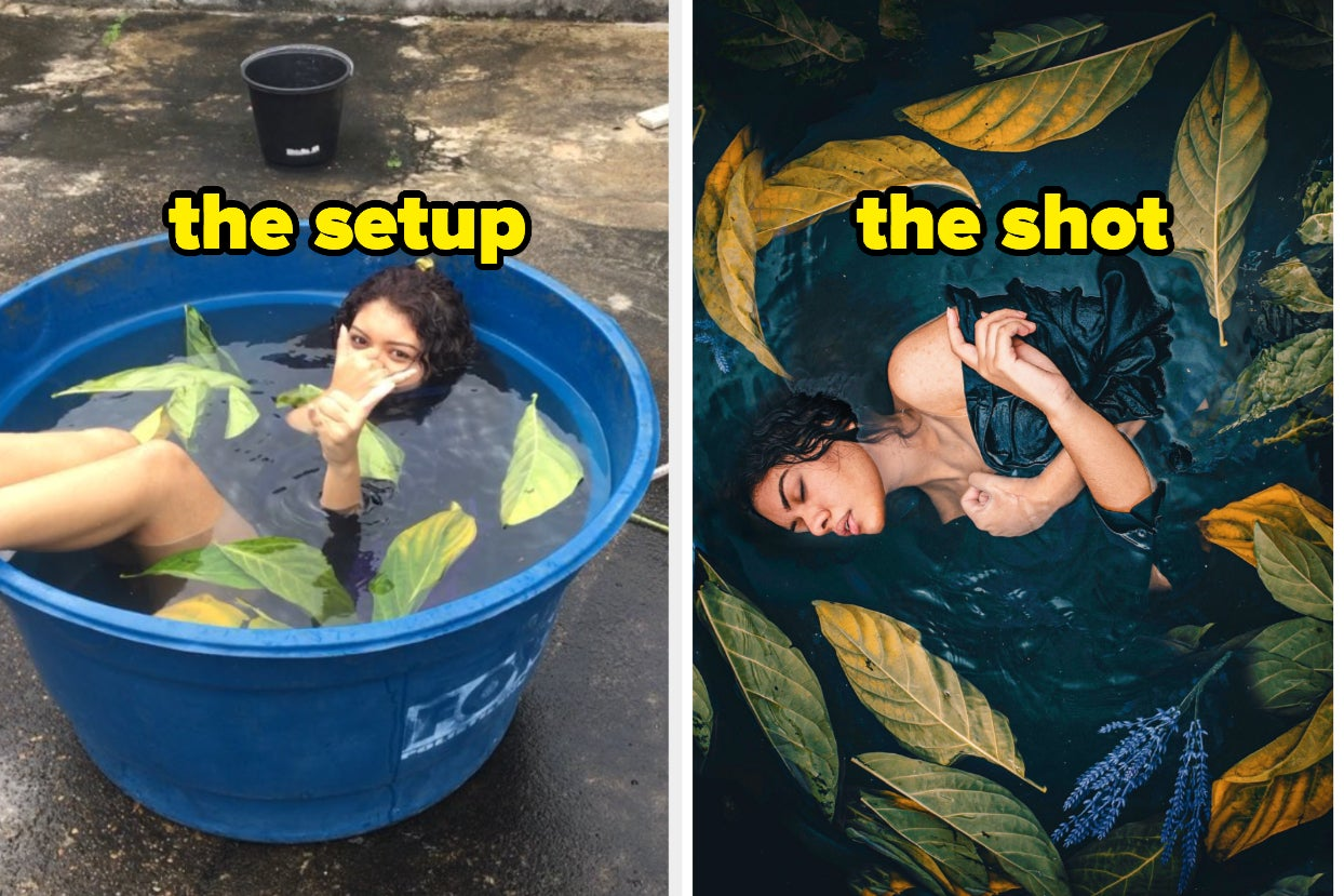 "People Are Sharing ""The Setup/The Shot"" To Show How They Got Such Superb Pics And It's Fascinating"