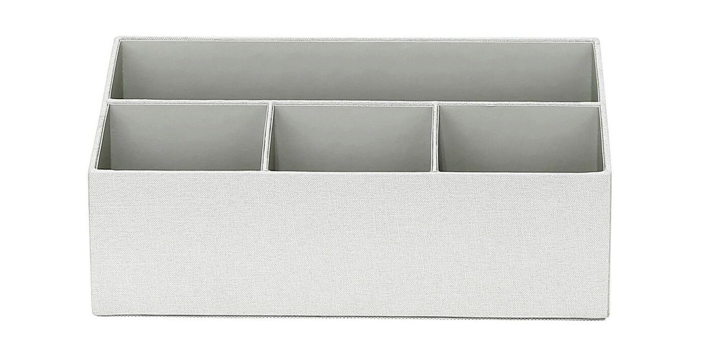 Gray desk storage tray