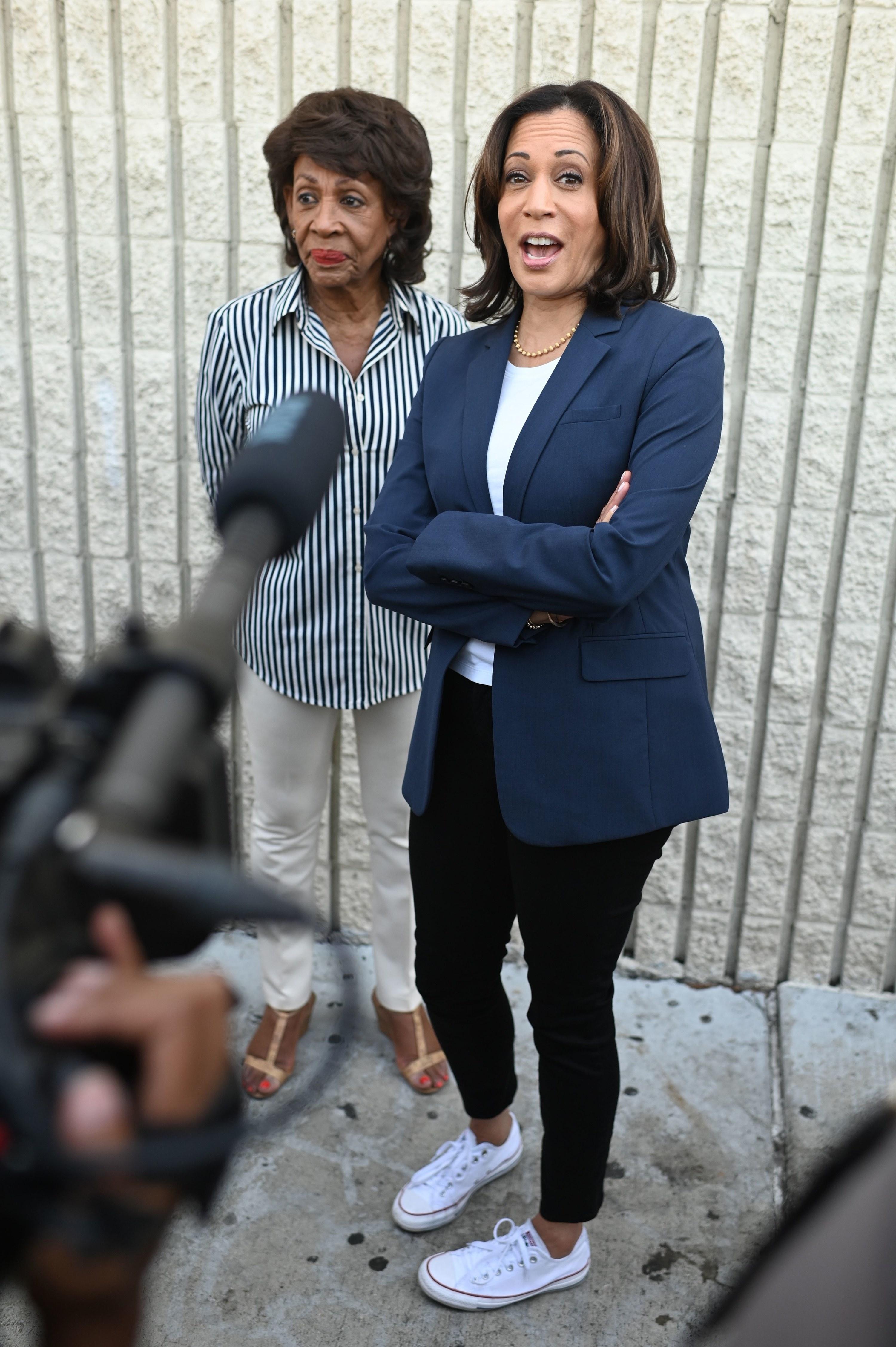 Kamala Harris Has Worn Converse