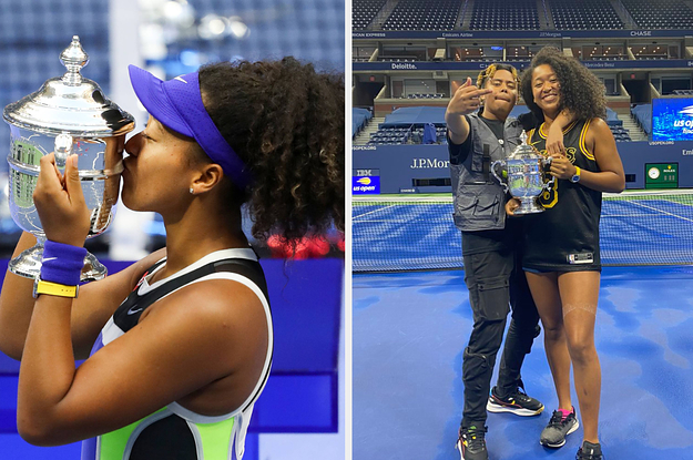 Naomi Osaka's Boyfriend's Reaction To Her Winning The US Open Is Too Adorable For Words