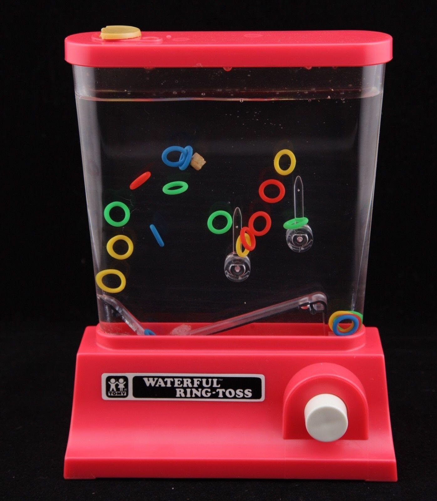 Waterful ring toss game