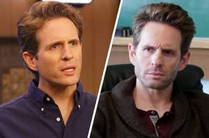"Glenn Howerton as Dennis Reynolds in ""It's Always Sunny in Philadelphia"" and Jack Griffin in ""AP Bio"""