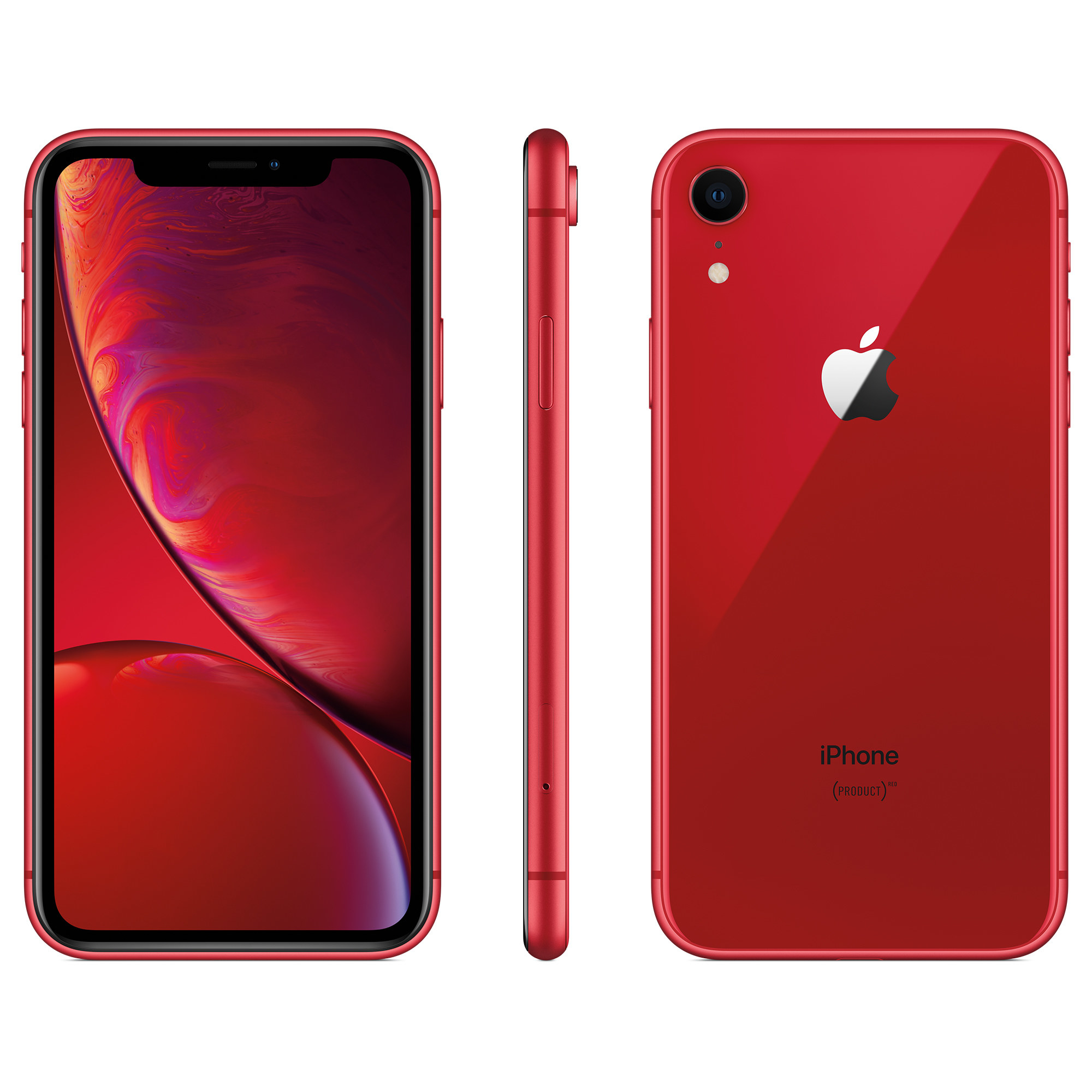 The red iPhone