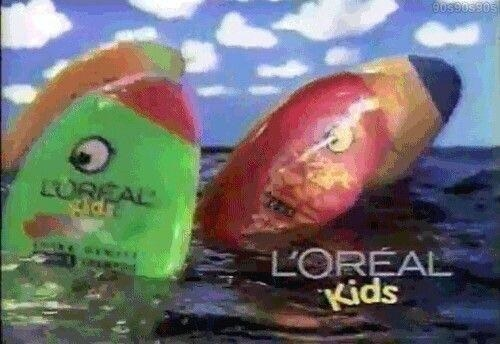 lo'real kids shampoo commercial