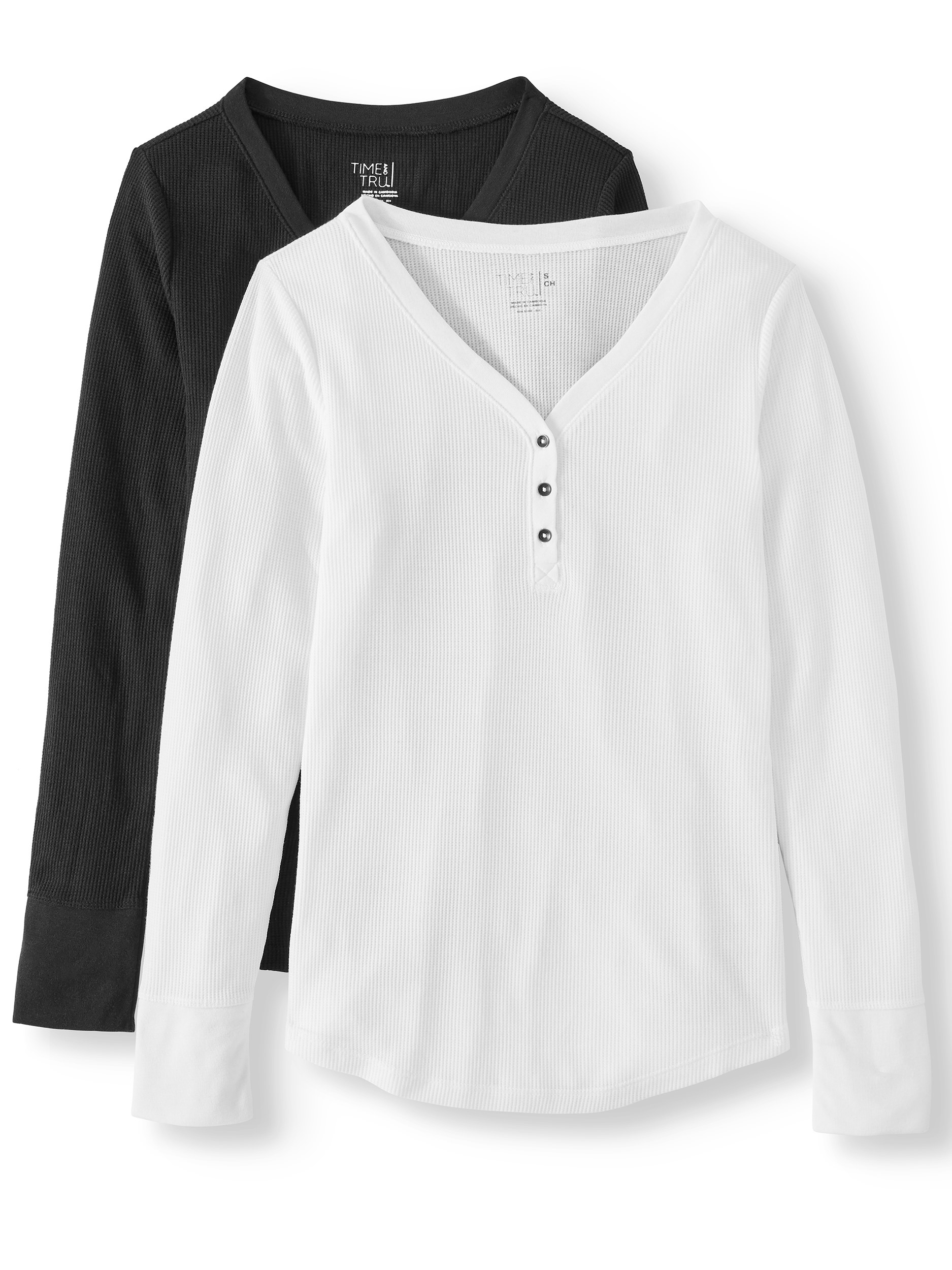 The white and black shirts