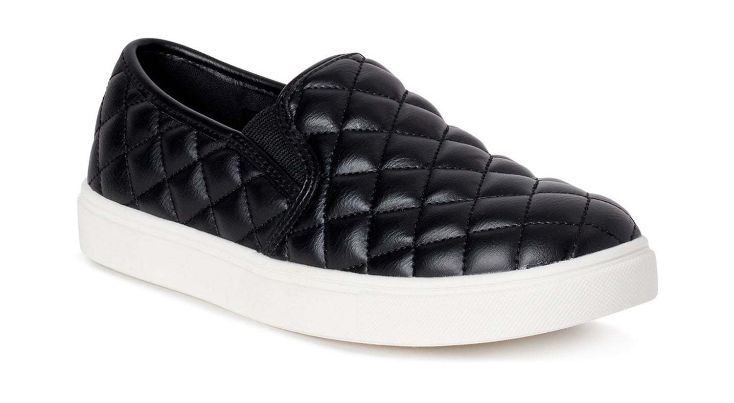 The quilted black sneaker