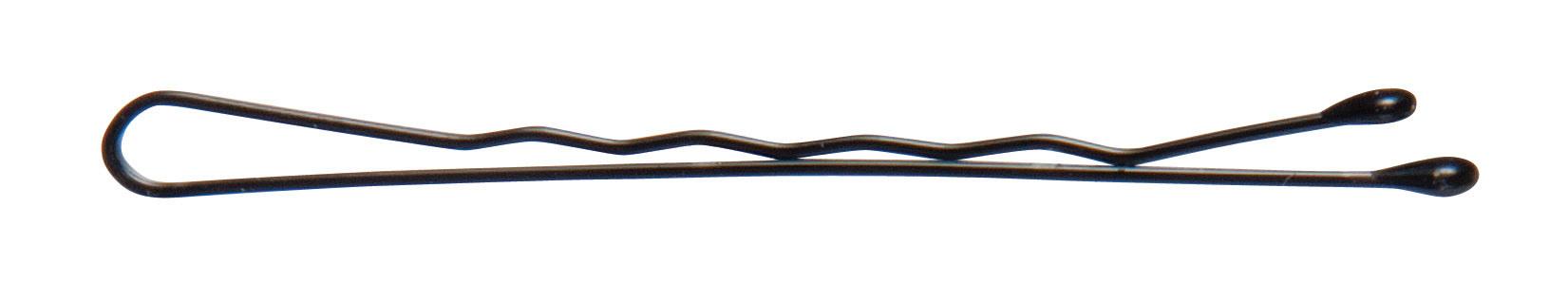 A black bobby pin