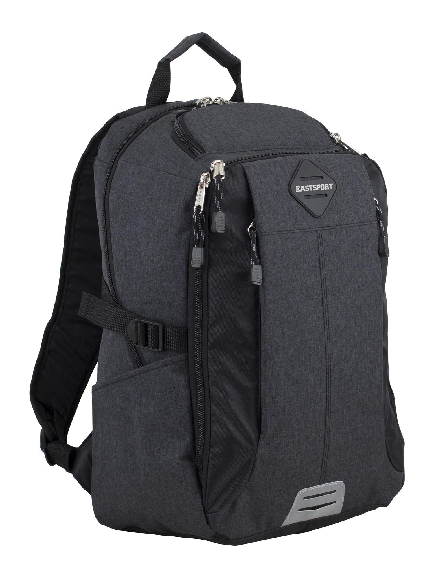 The black backpack