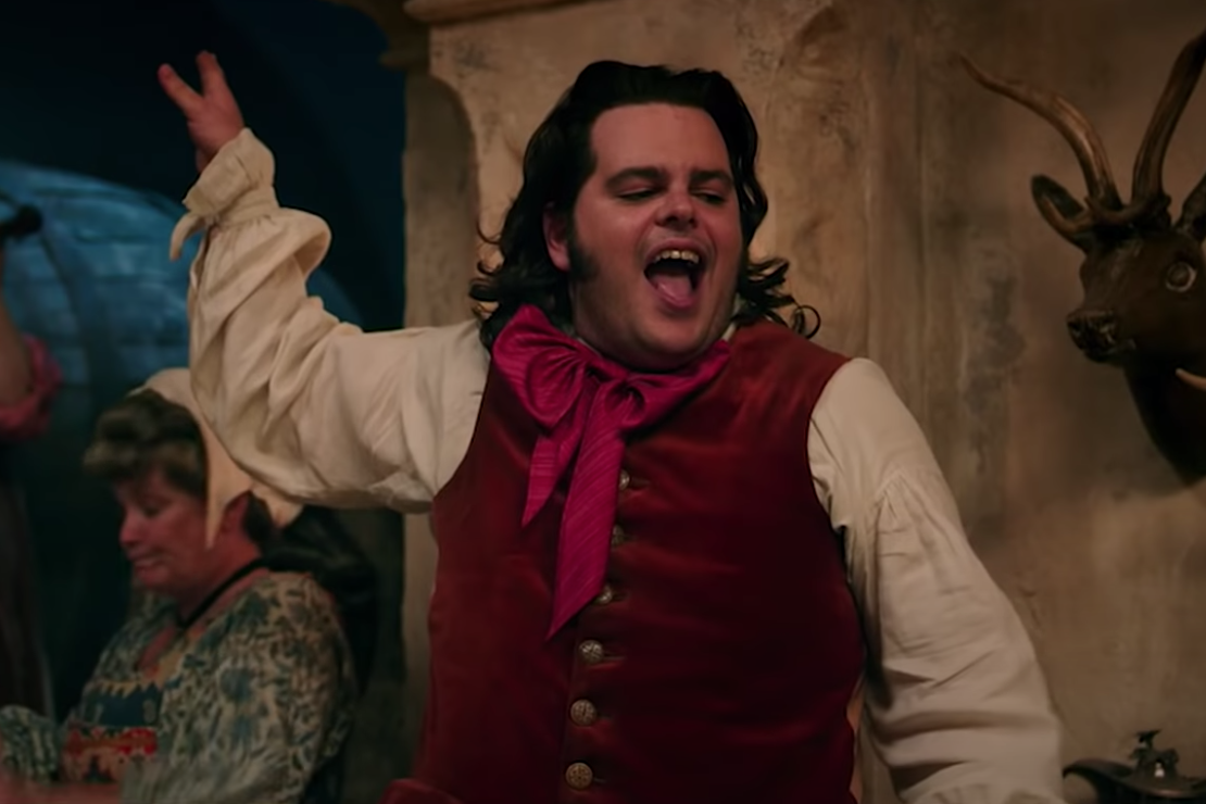 """LeFou dancing and singing in """"Beauty in the Beast."""""""