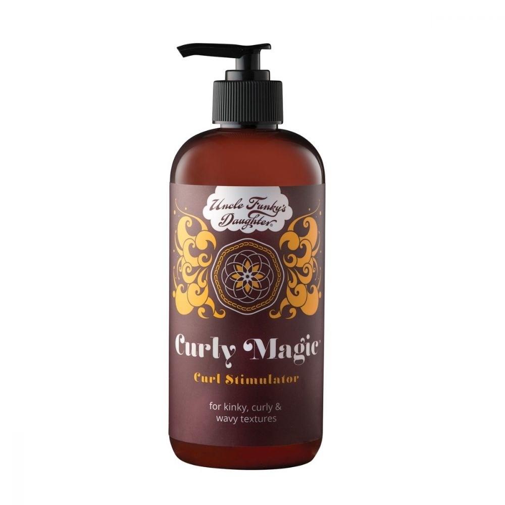 the bottle of curl stimulator