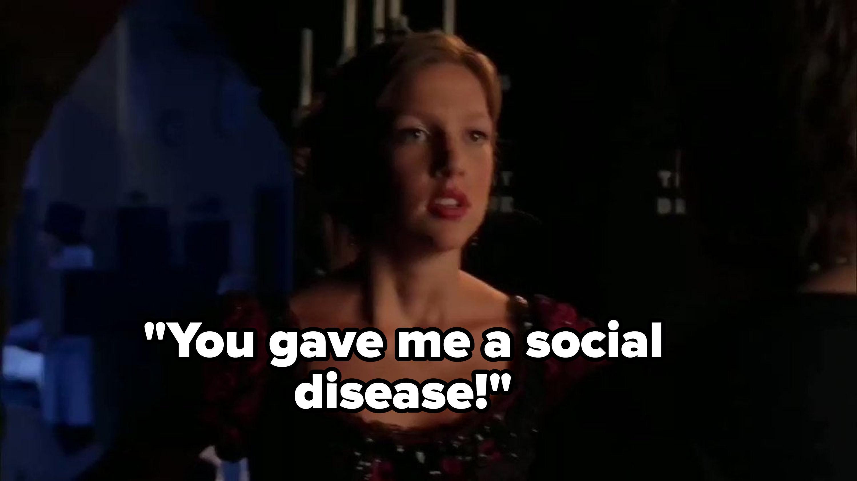 """Emma: """"You gave me a social disease!"""""""