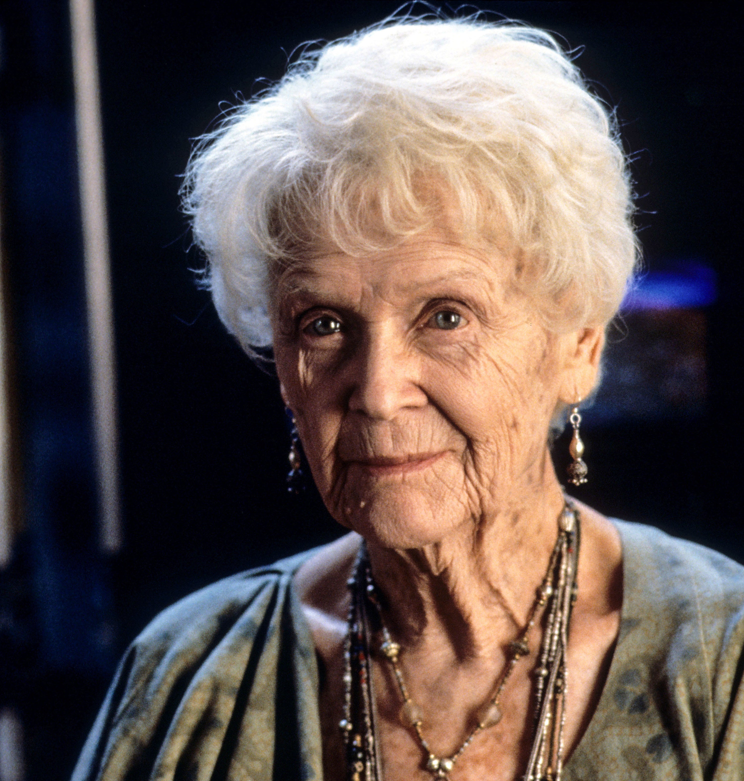 "A photo of Gloria Stuart as Rose in ""Titanic"""