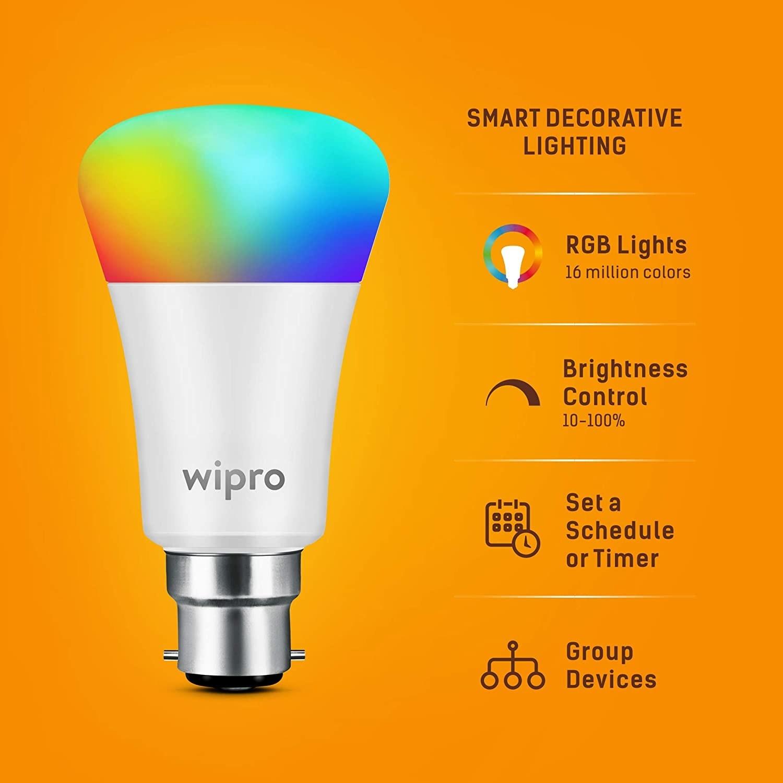 A smart light bulb