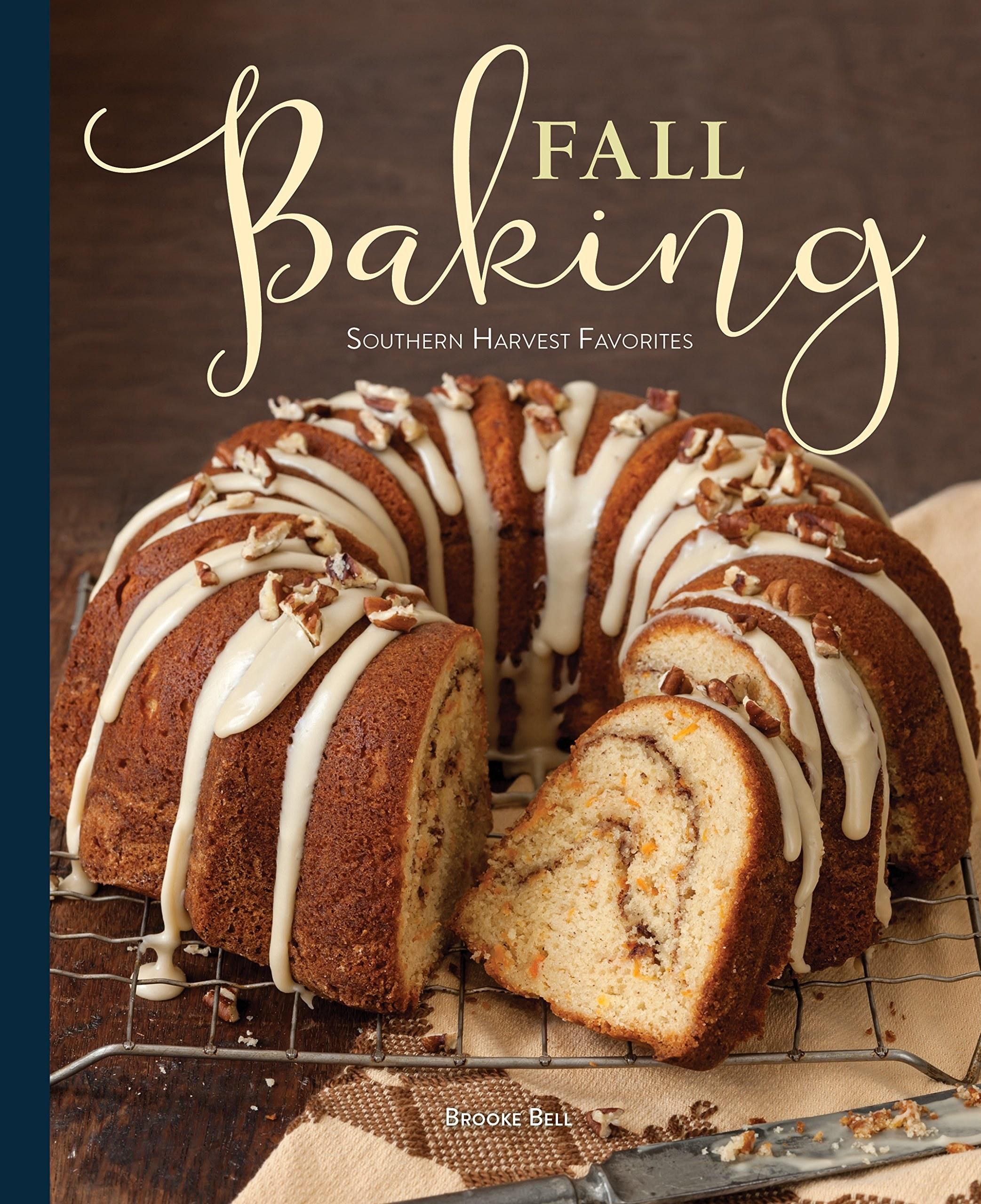 A cookbook called Fall Baking