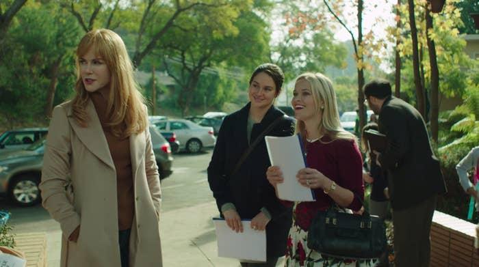 A still of Celeste Wright, Jane Chapman, and Madeline Mackenzie in Big Little Lies