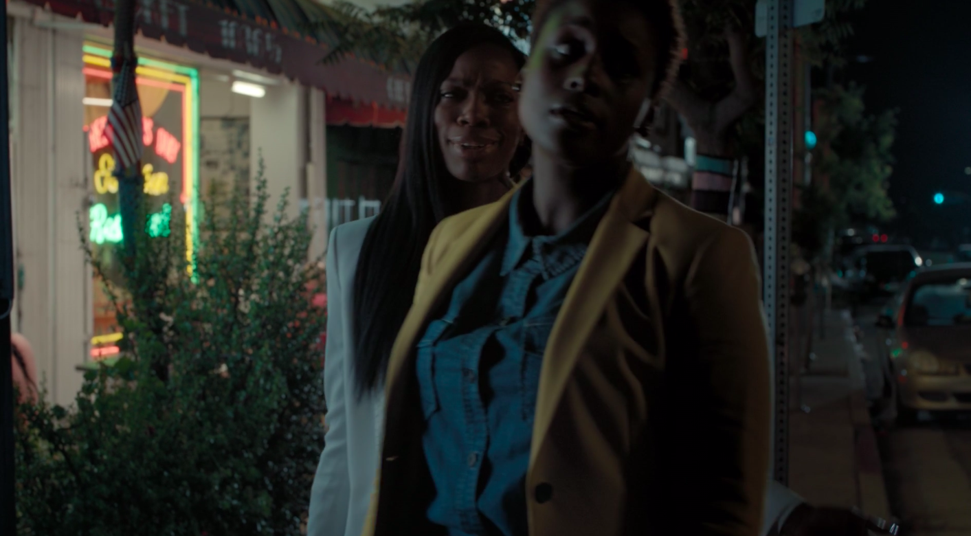 A still of Molly Carter and Issa Dee in Insecure