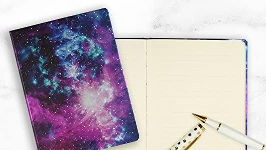 A journal that looks like a nebula