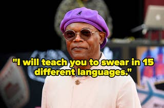 Samuel L. Jackson and the quote: