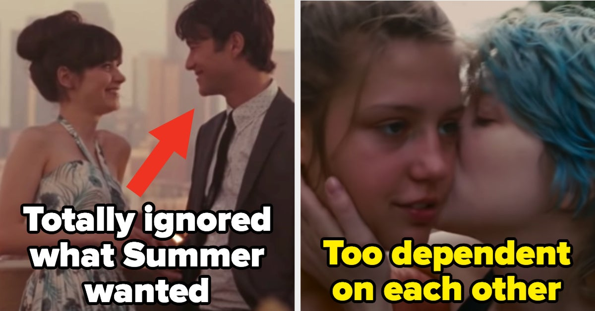 16 Movie Couples Who You're Pretty Glad Didn't End Up Together, No Questions Asked