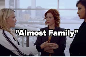 Emily osment and brittany snow in almost family