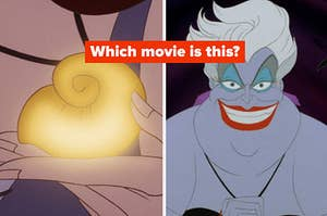 Which movie is this? Ursula and a shell necklace?
