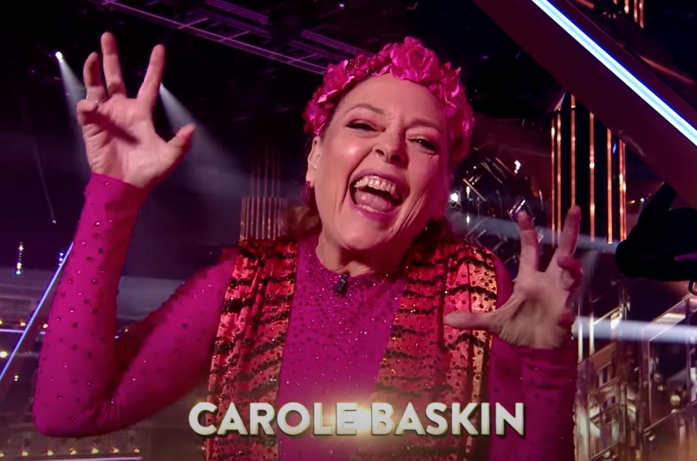 Carole Baskin making tiger claws